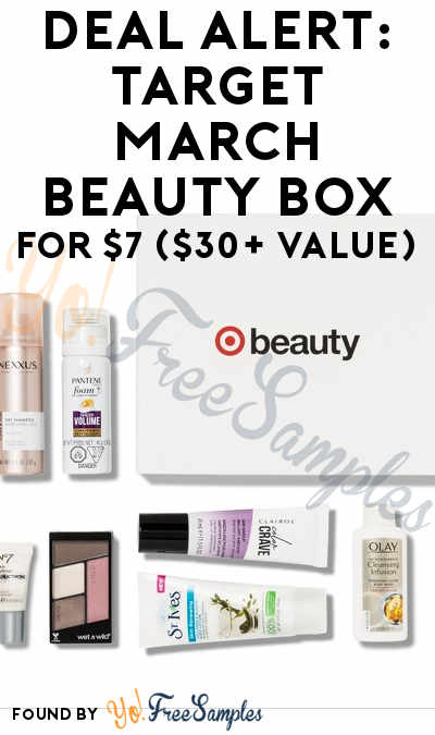 DEAL ALERT: Target Define and Shine Beauty Box For $7 ($30+ Value)