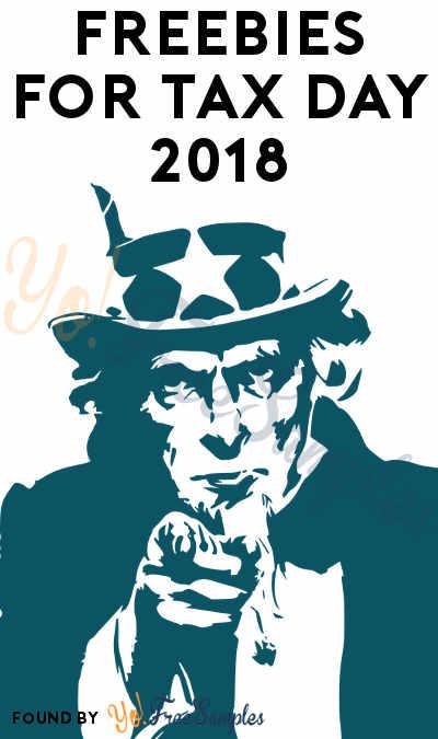 FREE Tax Day Freebies 2018