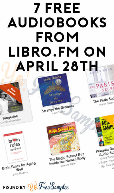 7 FREE Audiobooks From Libro.FM On April 28th
