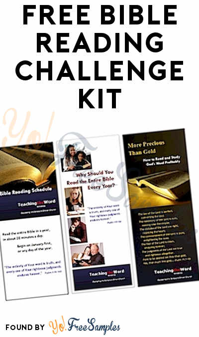 FREE Bible Reading Challenge Kit