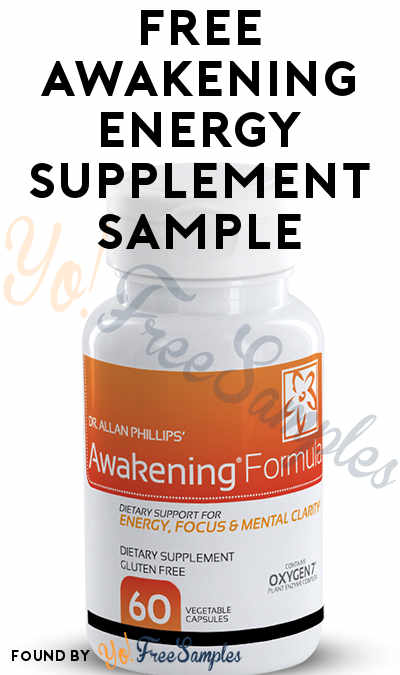 FREE Awakening Energy Supplement Sample