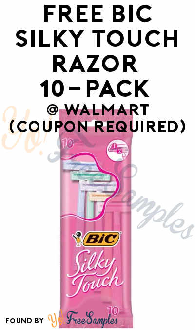 FREE Bic Silky Touch Razor 10-Pack At Walmart (Coupon Required)