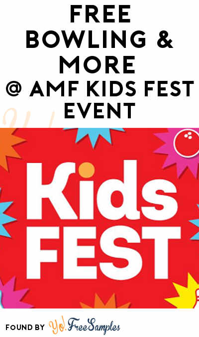 FREE Bowling & Discounts For AMF Kids Fest On April 28th