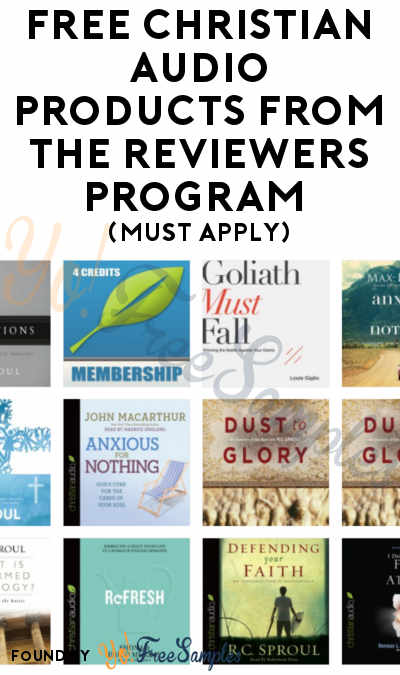FREE Christian Audio Products From The Reviewers Program (Must Apply)