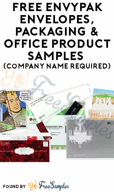 FREE EnvyPak Envelopes, Packaging & Office Product Samples (Company Name Required)
