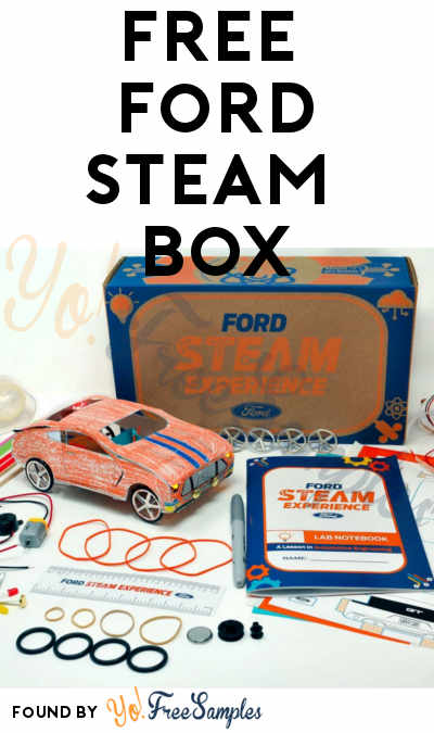 FREE Ford STEAM Box [Verified Received By Mail]