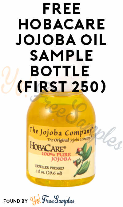 FREE HobaCare Jojoba Oil Sample Bottle (First 250)