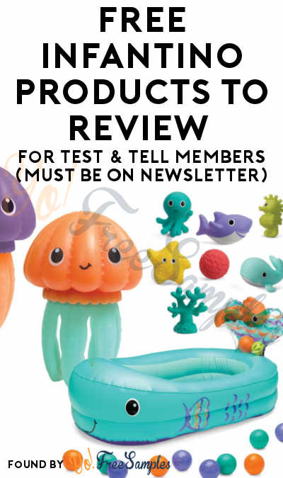 FREE Infantino Products To Review For Test & Tell Members (Must Be On Newsletter)