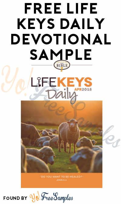 FREE Life Keys Daily Devotional Sample