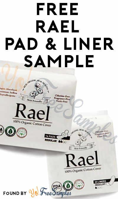 FREE Rael Pad & Liner Sample