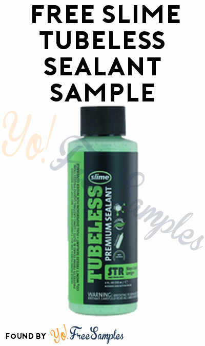 FREE SLIME Tubeless Sealant Sample