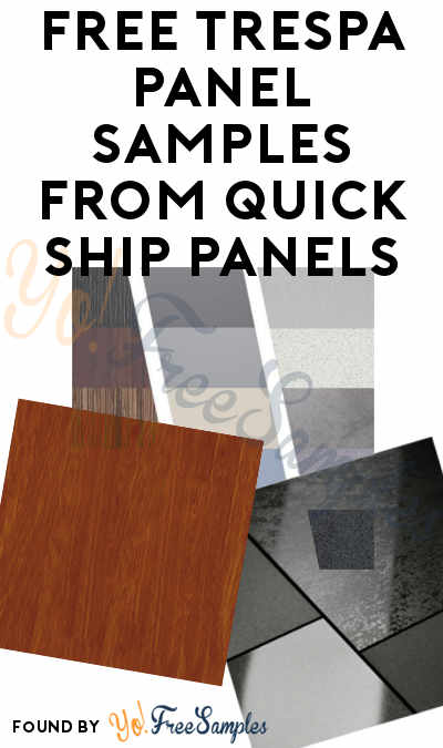 FREE Trespa Panel Samples From Quick Ship Panels