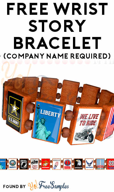 FREE Wrist Story Bracelet (Company Name Required)