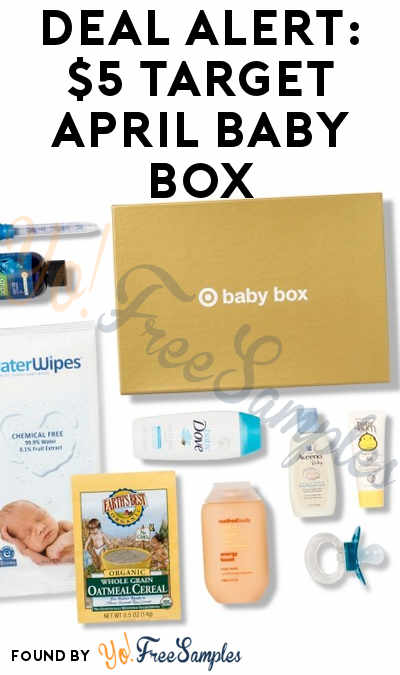DEAL ALERT: Target Baby Box For $5