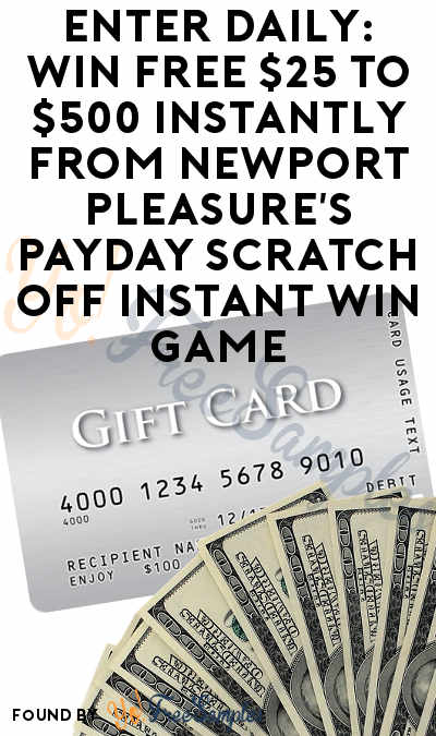 photograph regarding Newports Coupons Printable named Input Every day: Gain Cost-free $25 towards $500 Quickly Versus Newport
