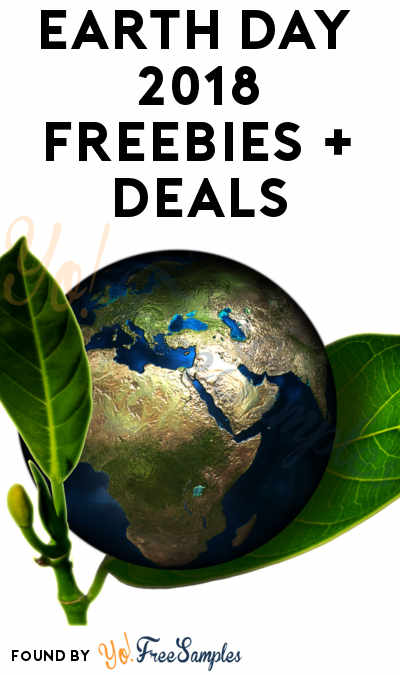 FREE Earth Day Freebies 2018