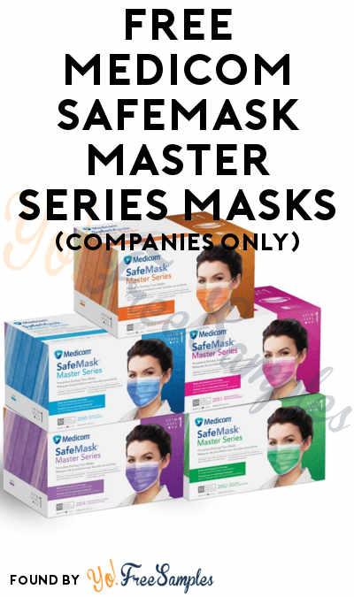 FREE Medicom SafeMask Sample (Company Name Required)