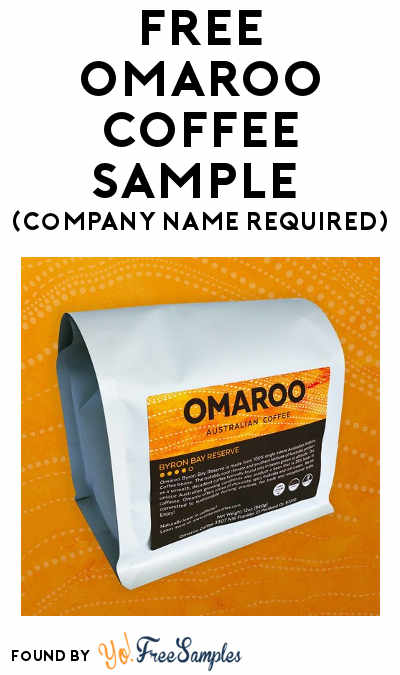 FREE Omaroo Coffee Sample (Company Name Required)