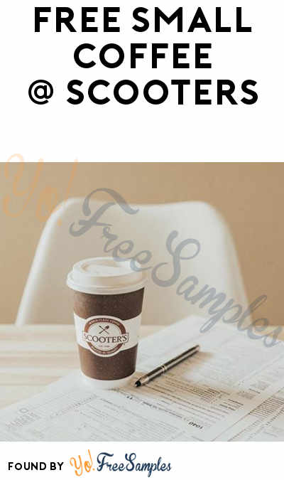FREE Scooters Small Coffee On April 17th