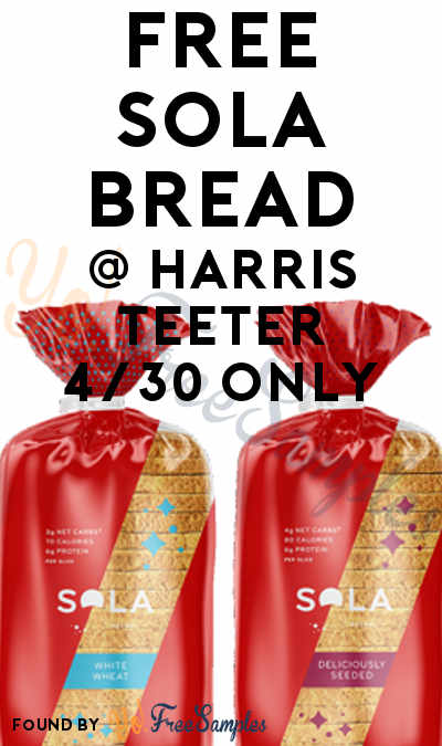 Extended: FREE Sola Bread At Harris Teeter