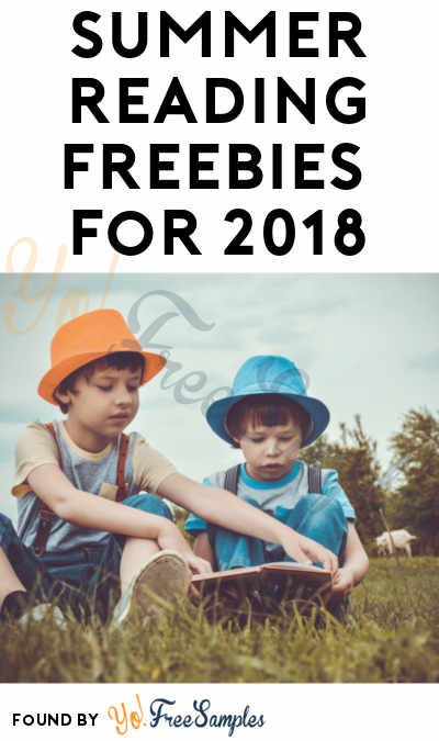 17 FREE Summer Reading Freebies For 2018