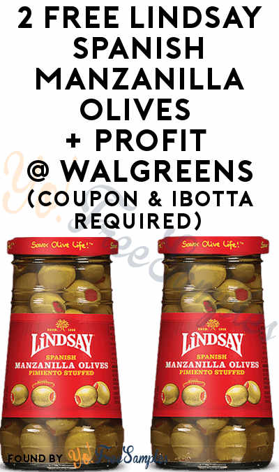 2 FREE Lindsay Spanish Olives + Profit At Walgreens (Coupon & Ibotta Required)