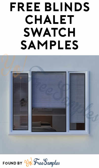 FREE Blinds Chalet Swatch Samples