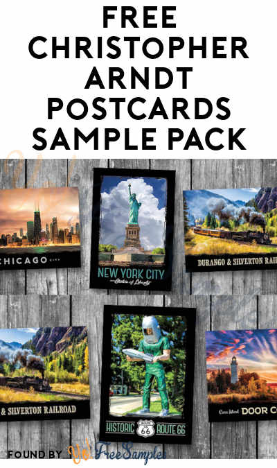 FREE Christopher Arndt Postcards Sample Pack