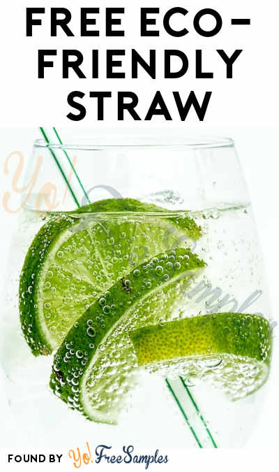 FREE Eco-Friendly Straw