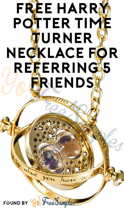 FREE Harry Potter Time Turner Necklace For Referring 5 Friends