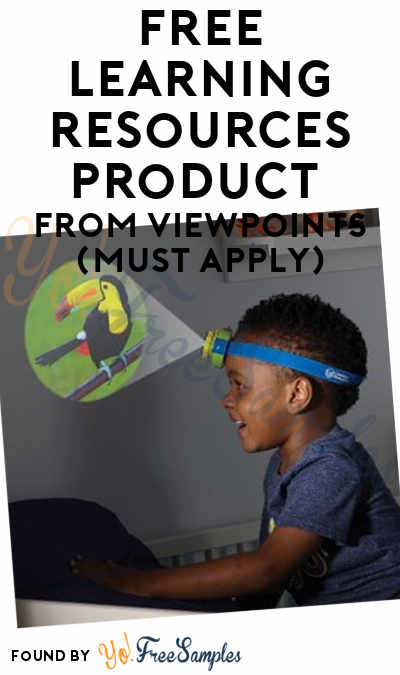 FREE Learning Resources Product From ViewPoints (Must Apply)