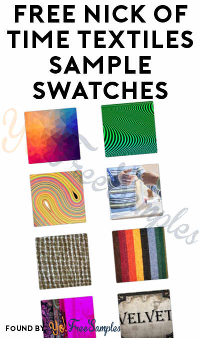 FREE Nick of Time Textiles Sample Swatches
