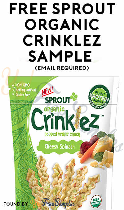 FREE Sprout Organic Crinklez Sample (Email Required) [Verified Received By Mail]