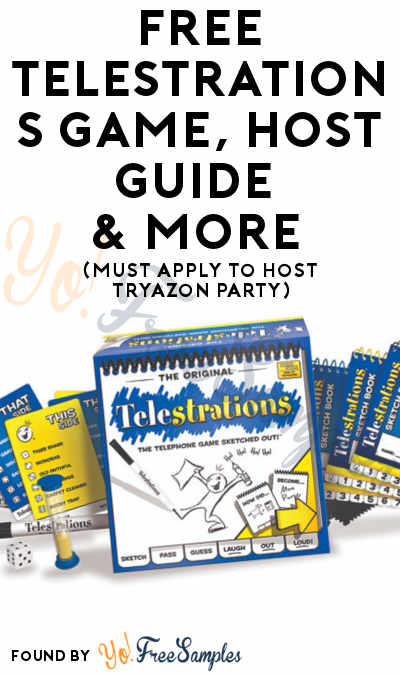 FREE Telestrations Game, Host Guide & More (Must Apply To Host Tryazon Party)