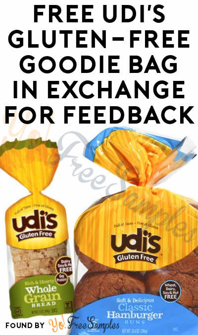 FREE Udi's Gluten-Free Goodie Bag In Exchange For Feedback