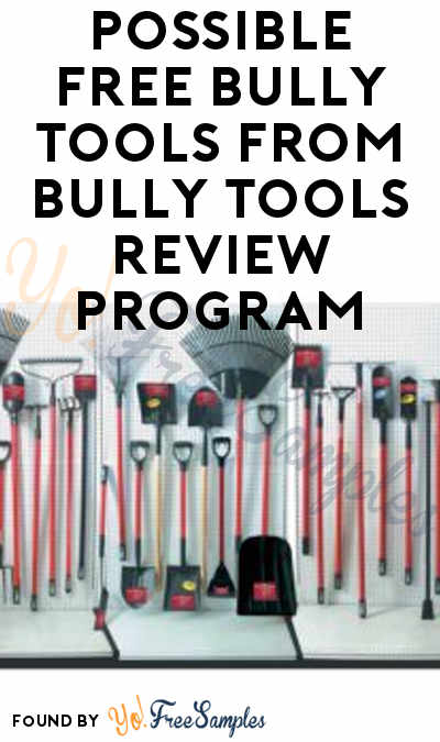 Possible FREE Bully Tools From Bully Tools Review Program