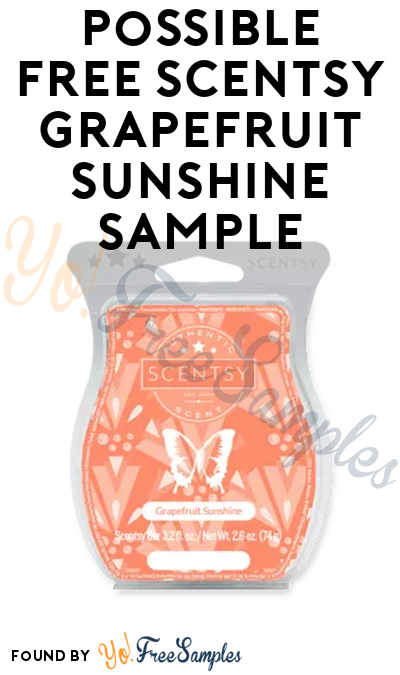 Possible FREE Scentsy Watermelon Wave Sample (Survey Required)