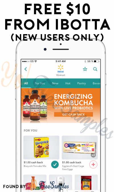 FREE $10 Cash Bonus For New Ibotta Users