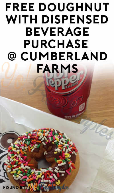 FREE Doughnut With Beverage Purchase At Cumberland Farms On National Donut Day (Select Locations)
