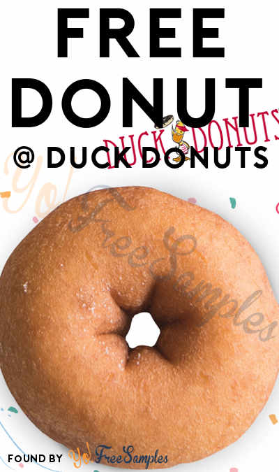 FREE Duck Donuts Donut On National Donut Day