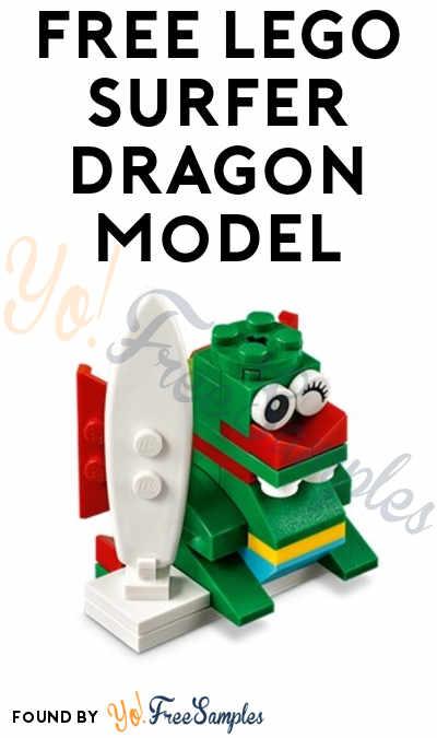 Registration Open: FREE LEGO Surfer Dragon Model From Mini Model Build Event June 5th & 6th