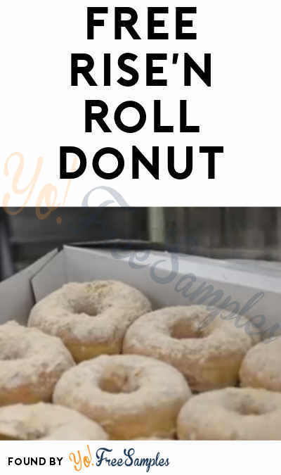 FREE Donut At Rise'n Roll On National Donut Day