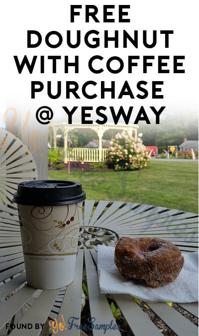 FREE Doughnut With Coffee Purchase At Yesway On June 1st