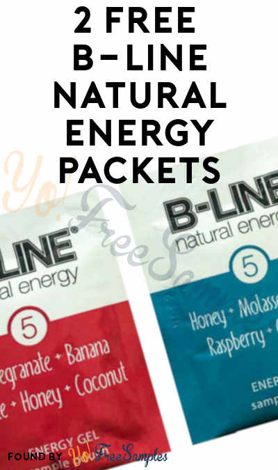 2 FREE B-Line Natural Energy Packets
