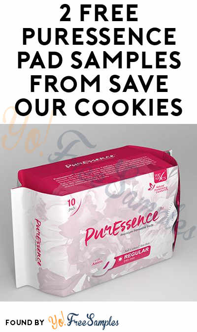 2 FREE PurEssence Pad Samples From Save Our Cookies