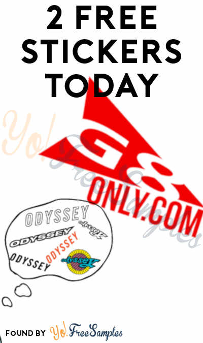 2 FREE Stickers Today: G8 Only Sticker & Odyssey BMX Stickers