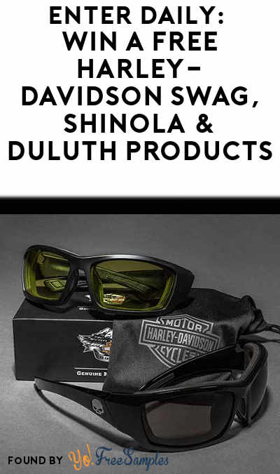 Enter Daily: Win A FREE Harley-Davidson Swag, Shinola & Duluth Products From Freshcope's Homegrown Sweepstakes