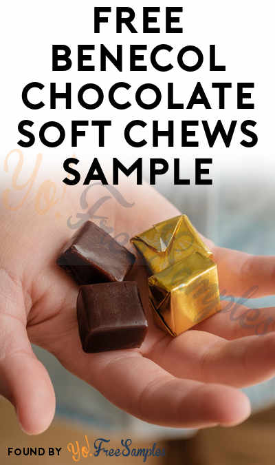 FREE Benecol Chocolate Soft Chews Sample