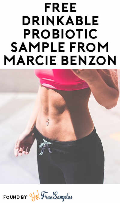 FREE Drinkable Probiotic Sample From Marcie Benzon
