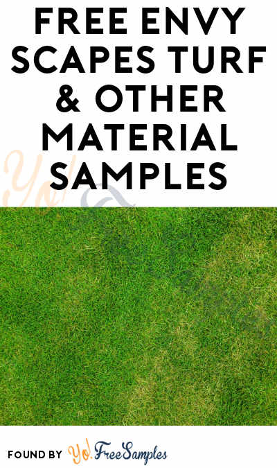 FREE Envy Scapes Turf & Other Material Samples